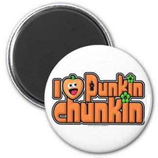 Punkin Chunkin Aimant Pour Réfrigérateur
