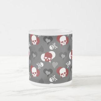 Punky tasse de tête de mort