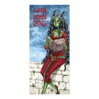 Punt llibre de Drac Sant Jordi 2013 Double Carte En Couleur