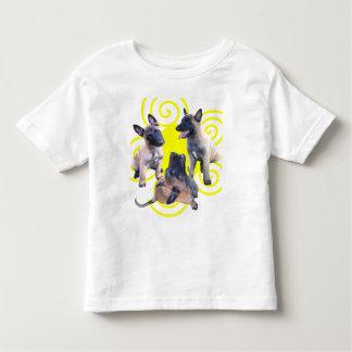 puppies malinois t-shirt pour les tous petits