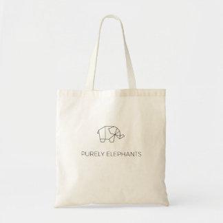 Purement sac fourre-tout à éléphants