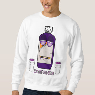 Purple and codeine CABRXNE$ Sweatshirt