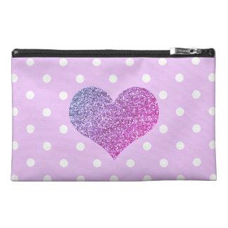 Purple Heart et sac d'accessoire de voyage de à Trousses À Accessoires De Voyage
