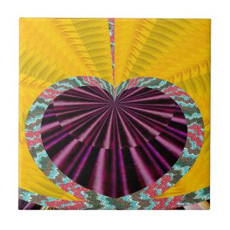 Purple Heart foncé dans un plateau Carreaux En Céramique