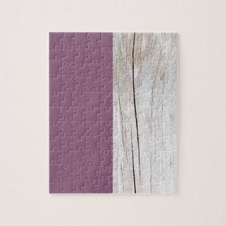 Purple + Wood Puzzle