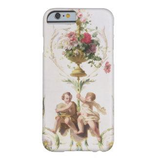 Putti parmi des butins des fleurs et du feuille coque iPhone 6 barely there