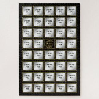 Puzzle 50 ans dans la fabrication, collage de photo de