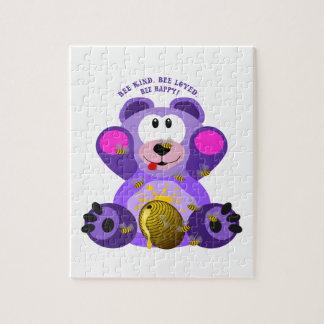 Puzzle Abeille aimée par abeille aimable d'abeille d'ours