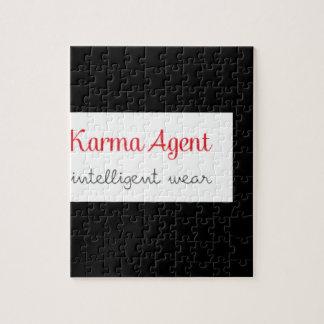Puzzle agent de karma - usage intelligent, énergie