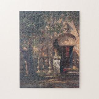 Puzzle Albert Bierstadt - lumière du soleil et ombre 1862