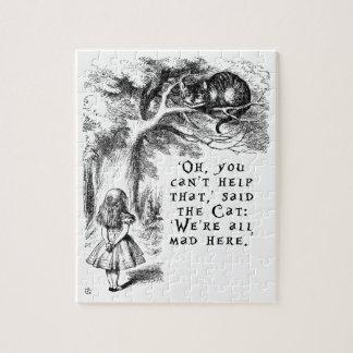 Puzzle Alice au pays des merveilles - nous sommes tous