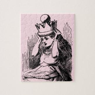 Puzzle Alice vintage au pays des merveilles, Alice en