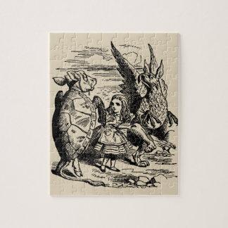 Puzzle Alice vintage au pays des merveilles, Gryphon,