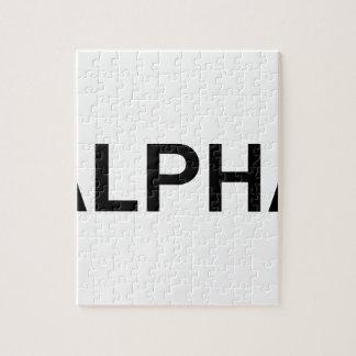Puzzle Alpha (NOIR)