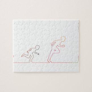 Puzzle Ambition d'enfance de garçon et chasse de ses