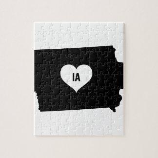 Puzzle Amour de l'Iowa