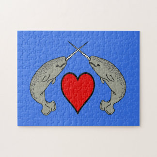 Puzzle Amour de Narwhal