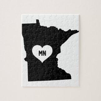 Puzzle Amour du Minnesota