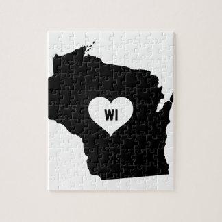 Puzzle Amour du Wisconsin