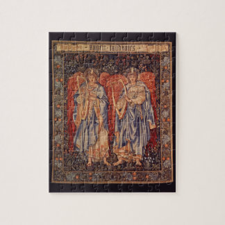 Puzzle Anges vintages, angélus Laudantes par Burne Jones