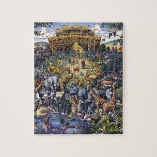 Puzzle Animaux d'arche de Noahs