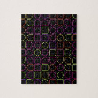 Puzzle Anneaux de couleur