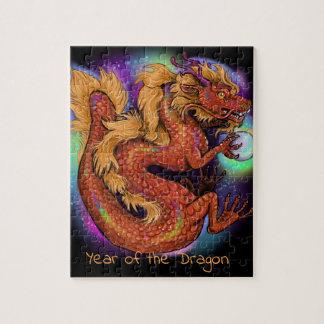 Puzzle Année chinoise de zodiaque du dragon