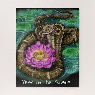 Puzzle Année chinoise de zodiaque du serpent