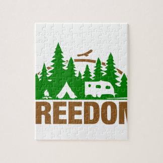 Puzzle Appréciez la liberté de camping