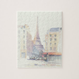 Puzzle Aquarelle de Tour Eiffel | Paris