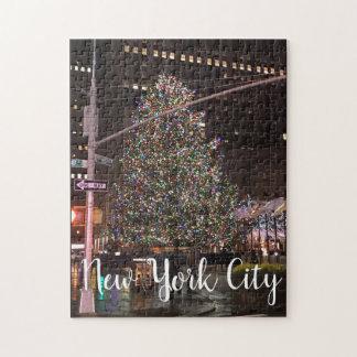 Puzzle Arbre de Noël central de New York City Rockefeller