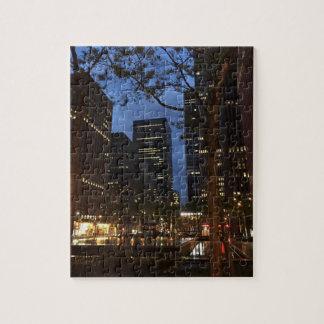 Puzzle Architecture centrale New York de l'aube NYC de