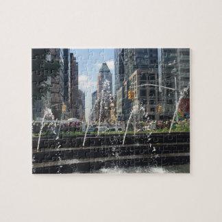 Puzzle Architecture New York City NYC de cercle de