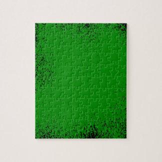 Puzzle Arrière - plan grunge vert