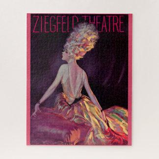 Puzzle Art 1927 de couverture de théâtre de Ziegfeld