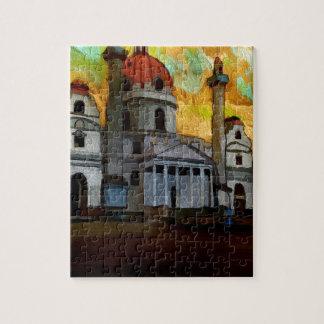 Puzzle Art autrichien d'église