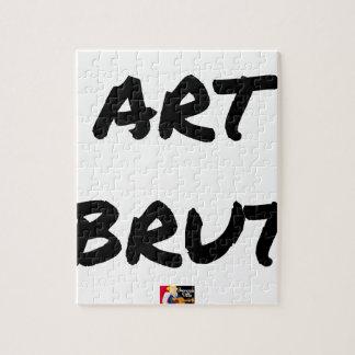 Puzzle art_brut__jeux_de_mots_francois_ville