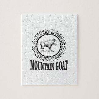 Puzzle art de chèvre de montagne
