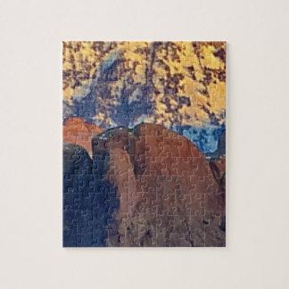Puzzle art de falaises et de montagnes