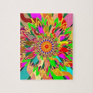 Puzzle Art de la planète CHAKRA du SOLEIL :  Source de