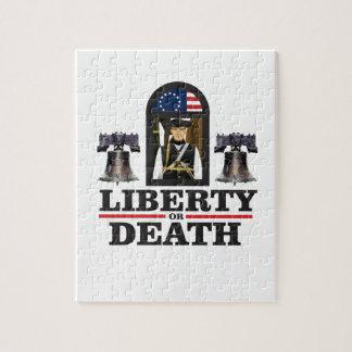 Puzzle art de patriote de cloche