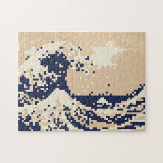 Puzzle Art de pixel de bit du tsunami 8 de pixel