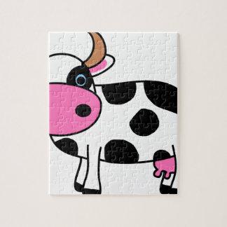 Puzzle art de vache