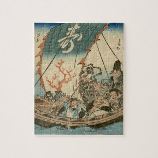 Puzzle Art d'Ukiyoe de Japonais (hiroshide Utagawa)