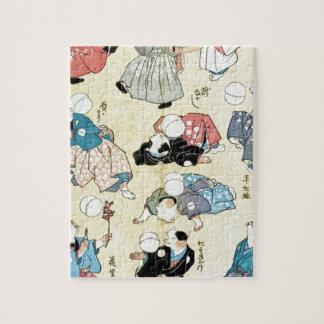 Puzzle Art d'Ukiyoe de Japonais (Kuniyoshi Utagawa)
