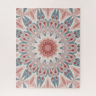 Puzzle Art moderne saisissant de fractale de mandala de
