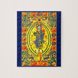 Puzzle Art populaire bizantin Jésus