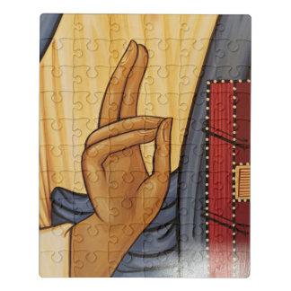 Puzzle Art religieux de signal de main