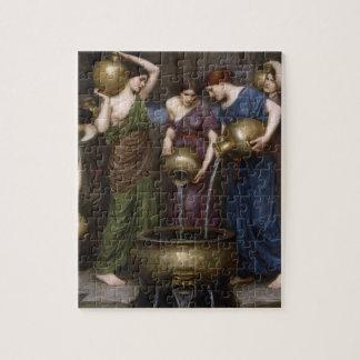 Puzzle Art victorien vintage, le Danaides par le château