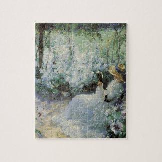 Puzzle Art vintage, solitude délicieuse par Frank Bramley